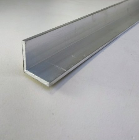 "Cantoneira Aluminio 1"" X 1/8"" (2,54cm X 3,17mm)"