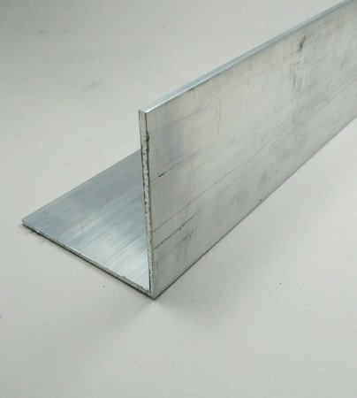 """Cantoneira de Aluminio 3"""" X 1/8"""" (7,62cm X 3,17mm)"""