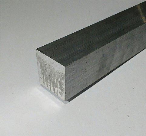 """Vergalhão quadrado de alumínio 2"""" = 5,08cm"""
