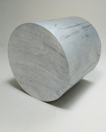 """Vergalhão redondo de alumínio  4"""" polegadas (10,17cm)"""