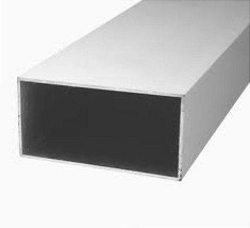 """Tubo Retangular Alumínio 3"""" x 1.1/2"""" x 1/16"""" (7,62cm x 3,81cm x 1,58mm)"""