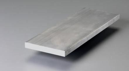 "Barra Chata Aluminio 3/4"" X 3/16"" (1,9cm X 4,76mm)"