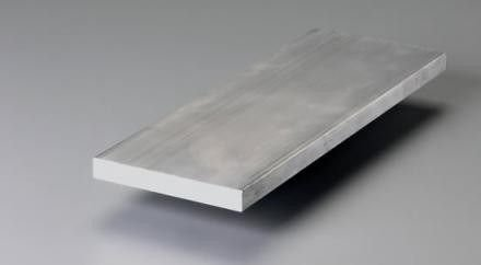 "Barra chata aluminio 1/2"" X 3/16"" (1,27cm x 4,76mm)"