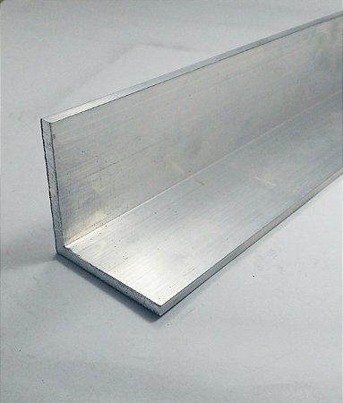"""Cantoneira de Aluminio 2"""" X 3/16"""" (5,08cm X 4,76mm)"""