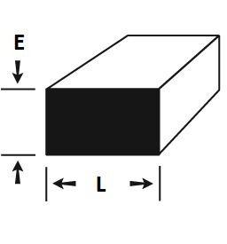 """barra chata de aluminio 2.1/2"""" x 1/8"""" (6,35cm x 3,17mm)"""