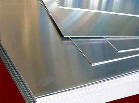 Chapa de alumínio lisa 1,00mm