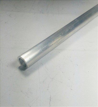 """Tubo Redondo aluminio 1/2"""" x 1,00mm = 12,70mm X 1,00mm"""