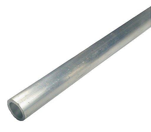 """Tubo Redondo Aluminio 1/2"""" X 1/32"""" = 12,70mm X 0,79mm"""