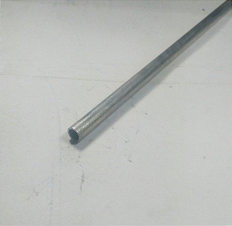 "Tubo Redondo aluminio 1/4"" x 1/32"" (6,35mm x 0,79mm) com 99cm"