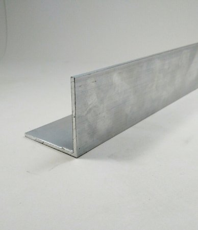 Cantoneira de Aluminio 2 X 2,00mm (5,08cm X 2,00mm ) com 1 Metro