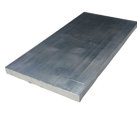 """Chapa de alumínio lisa 3/8"""" (9,52mm)"""