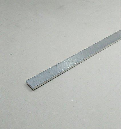 "Barra chata aluminio 1/2"" X 1/8"" (1,27cm x 3,17mm)"
