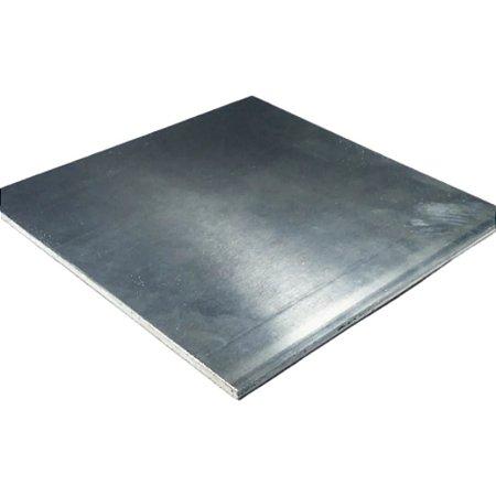 Chapa Aluminio Base Tupia 30cm X 49cm X 5,00mm