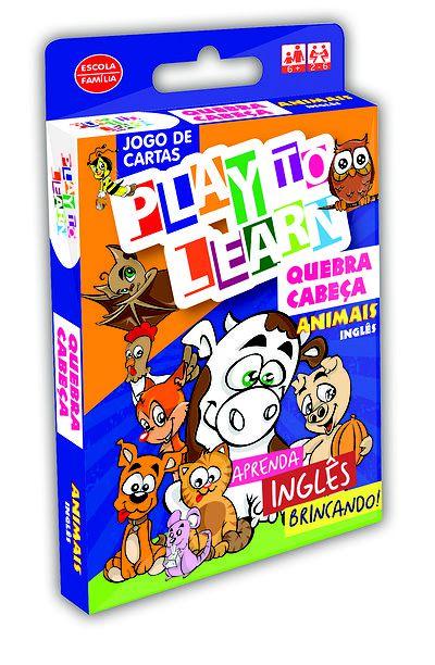 QUEBRA-CABEÇAS 3 PEÇAS- ANIMAIS
