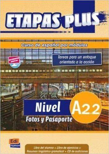 ETAPAS PLUS A2.2 -  FOTOS Y PASAPORTE - LIBRO DEL ALUNO