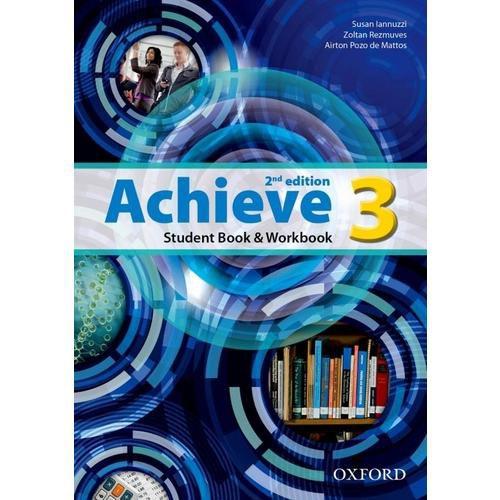 ACHIEVE 3 - STUDENT BOOK AND WORKBOOK- LEVEL 3- 2ª EDIÇÃO