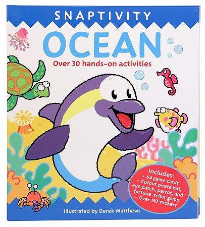 SNAPTIVITY OCEAN- LIVRO DE ATIVIDADES E JOGOS EM INGLÊS