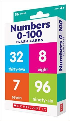 FLASH CARDS NUMBERS 0-100 - SCHOLASTIC