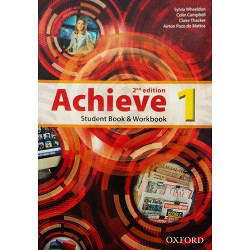 ACHIEVE 1 - STUDENT BOOK AND WORKBOOK- LEVEL 1- 2ª EDIÇÃO
