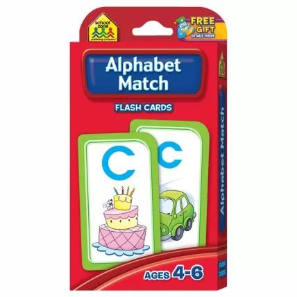 ALPHABET MATCH - FLASH CARDS