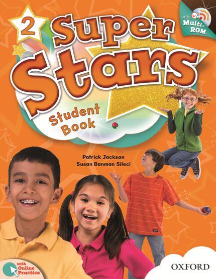 SUPER STARS 2 STUDENT BOOK COM MULTIROM PACK
