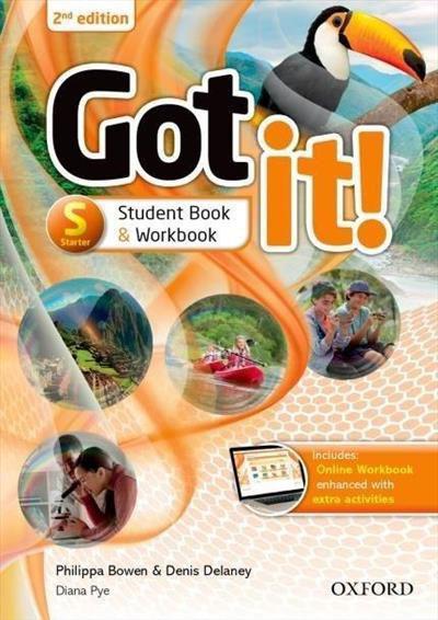GOT IT! STARTER - STUDENT BOOK PACK WITH DIGITAL WORKBOOK - 2º EDIÇÃO