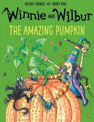 WINNIE AND WILBUR THE AMAZING PUMPKIN