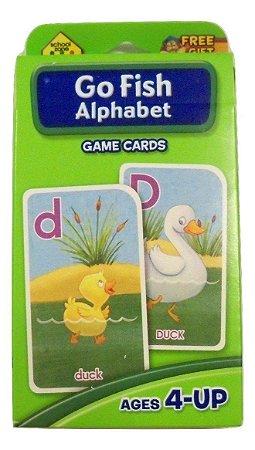 GO FISH ALPHABET - GAME CARDS