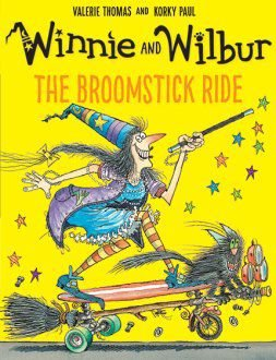 WINNIE AND WILBUR THE BROOMSTICK RIDE