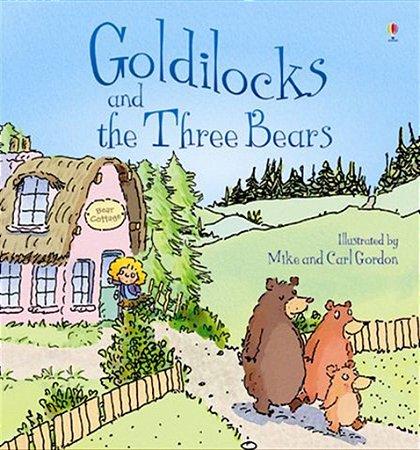 GOLDILOCKS AND THE THREE BEARS - USBORNE