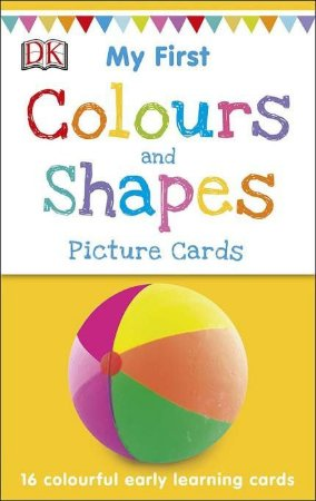 MY FIRST COLOURS AND SHAPES FLASHCARDS