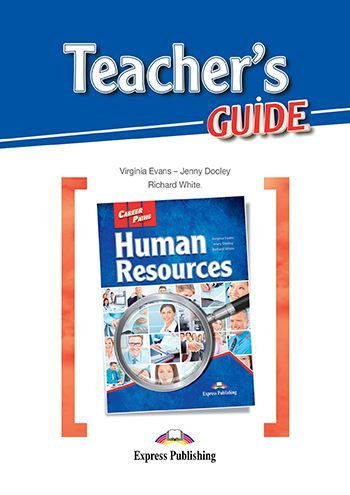 CAREER  PATHS HUMAN RESOURCES- TEACHER'S PACK WITH T'S GUIDE AND DIGIBOOK APP