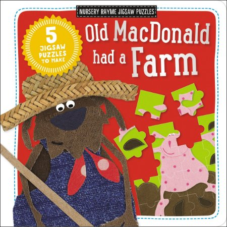 OLD MACDONALD HAD A FARM - NURSERY RHYME JIGSAW PUZZLES
