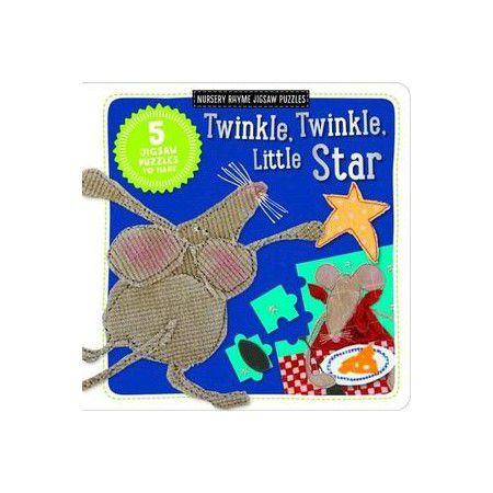 TWINKLE, TWINKLE, LITTLE STAR - NURSERY RHYME JIGSAW PUZZLE
