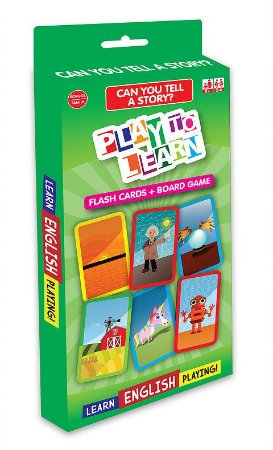 CAN YOU TELL A STORY? FLASHCARDS + BOARD GAME