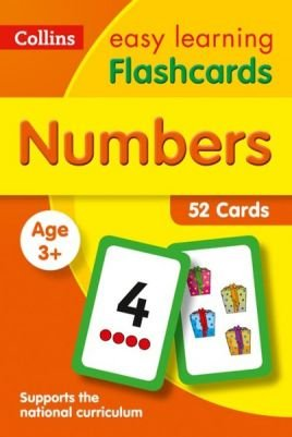 NUMBERS FLASHCARDS-  COLLINS EASY LEARNING