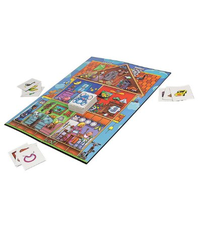 I SPY A MOUSE IN THE HOUSE PICTURE RHYMES- 3 GAMES TO PLAY