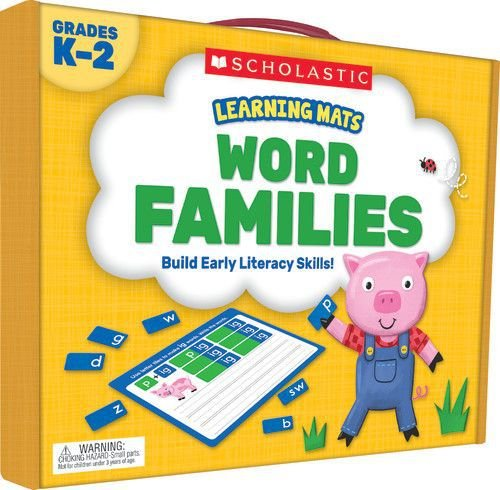 LEARNING MATS: WORD FAMILIES