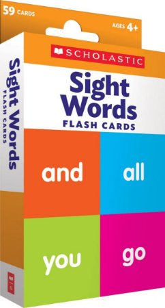 SIGHT WORDS FLASH CARDS SCHOLASTIC