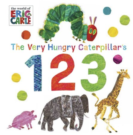 THE VERY HUNGRY CATERPILLARS 123