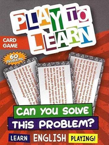 JOGO DE CARTAS- CAN YOU SOLVE THIS PROBLEM