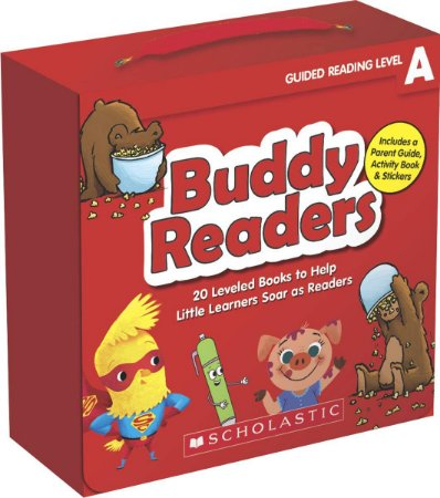 BUDDY READERS- LEVEL A - 20 LEVELED BOOKS FOR LITTLE LEARNERS