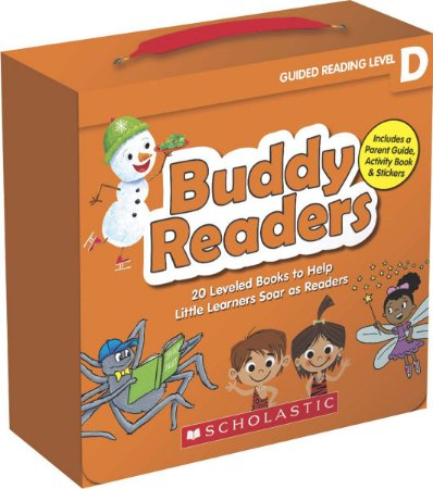 BUDDY READERS- LEVEL D - 20 LEVELED BOOKS FOR LITTLE LEARNERS