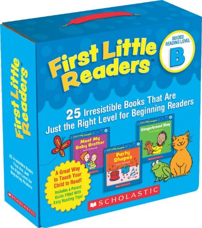 FIRST LITTLE READERS PACK LEVEL B- 25 LEVELED BOOKS FOR LITTLE LEARNERS
