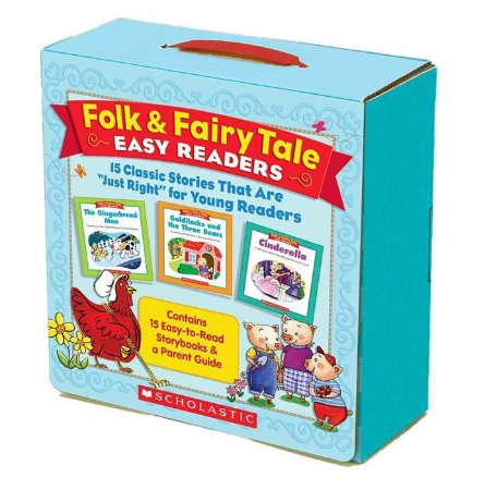 FOLK AND FAIRY TALES EASY READERS- 15 CLASSIC STORIES FOR YOUNG READERS