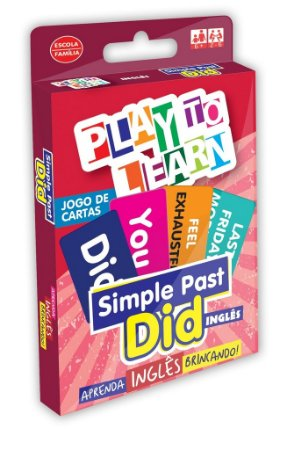 JOGO DE CARTAS SIMPLE PAST - DID
