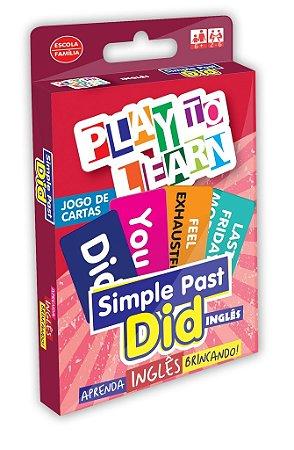 JOGO DE CARTAS SIMPLE PAST - DID