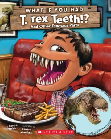 WHAT IF YOU HAD T REX TEETH