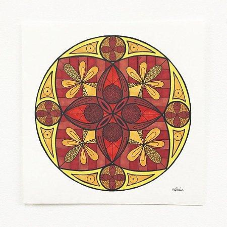 Mandala Brick - Original