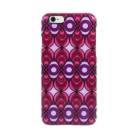 Case Iphone Azulejo Rosa